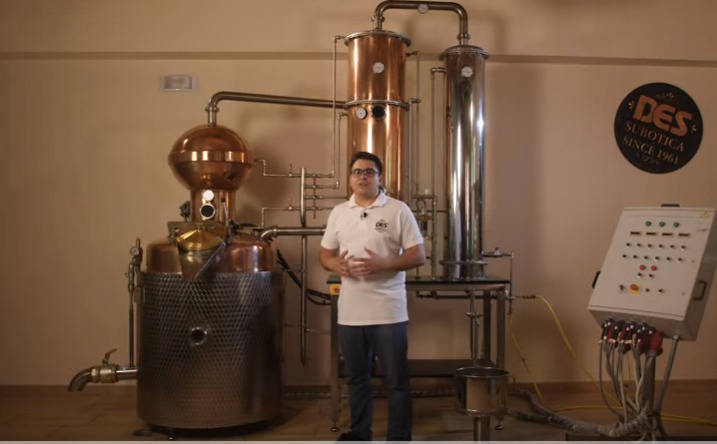 Check out the newest video we created - DES distillation equipment in operation